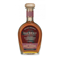 A. SMITH BOWMAN ISAAC BOWMAN VIRGINIA STRAIGHT BOURBON WHISKEY | PORT BARREL FINISHED